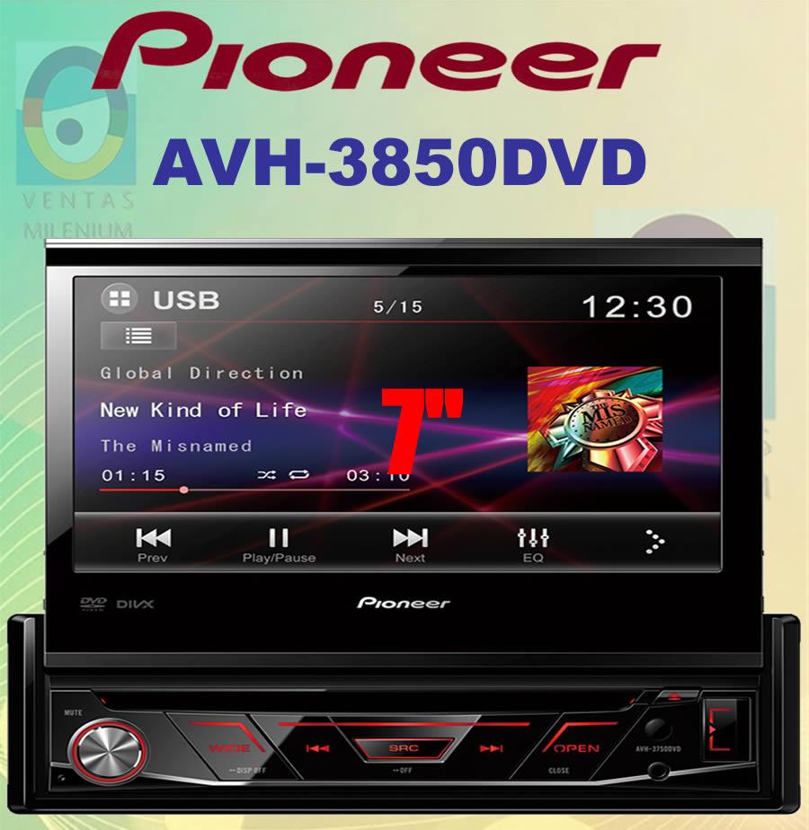 AVH3850DVD